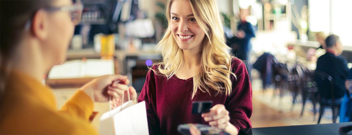 Handla med kreditkort